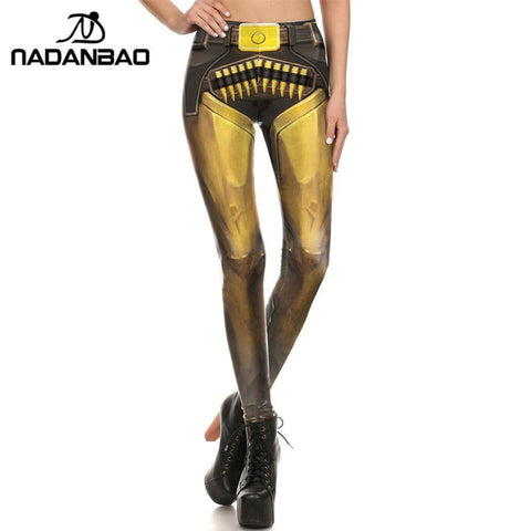 Gunslinger Women's Leggings - Superhero Gym Gear