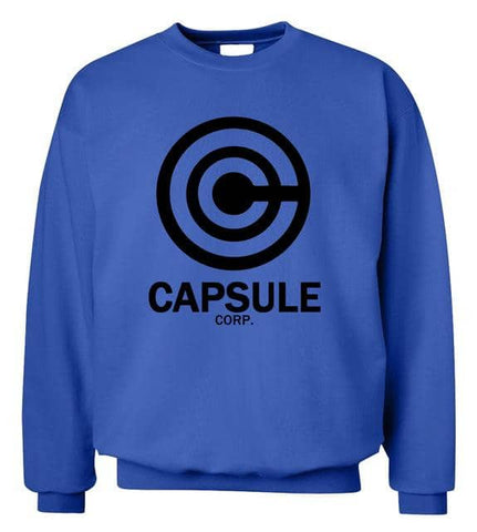 Capsule Sweater Blue Black - Superhero Gym Gear