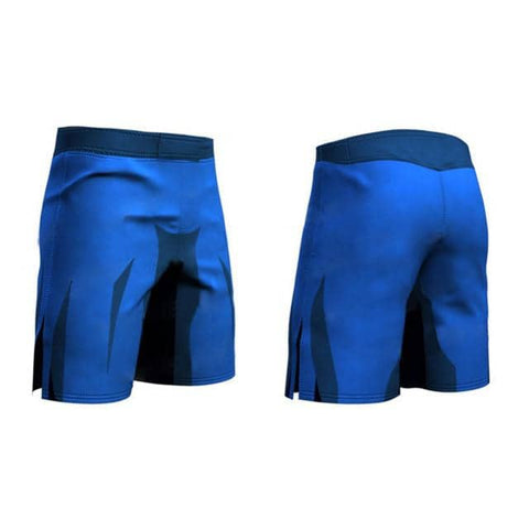 Dragon Blue Shorts - Superhero Gym Gear