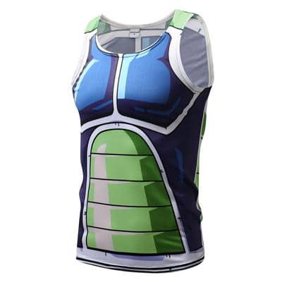Dragon Green Armor Workout Tank - Superhero Gym Gear