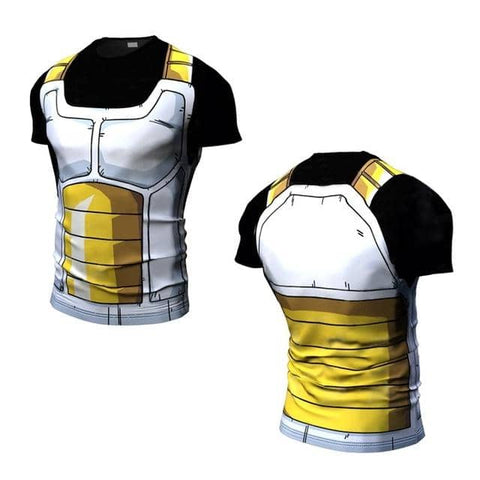 Dragon Ball Z Dark Collection Yellow - Superhero Gym Gear