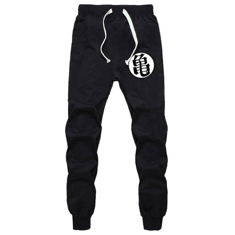 Dragon Joggers Black Workout Pants - FitKing