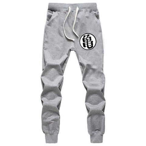 Dragon Ball Joggers Gray Workout Pants Version 2