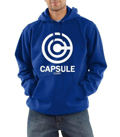 Dragon Capsule Hoodie Blue White - Superhero Gym Gear