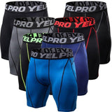 Men's Compression Fitness Shorts Quick Dry - Multiple Colors - Superhero Gym Gear