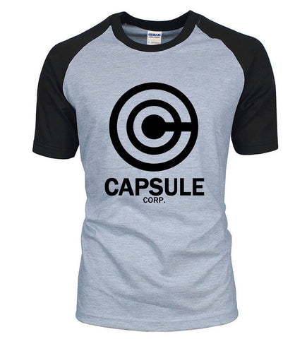 Dragon Capsule Fitted Shirt Black and Gray - Superhero Gym Gear