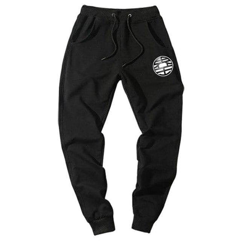 Dragon Joggers Black Workout Pants Version 3 - FitKing