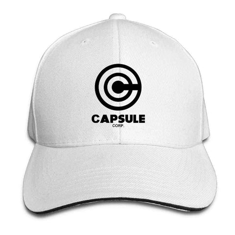 Dragon Capsule Baseball Cap - White Hat - Superhero Gym Gear