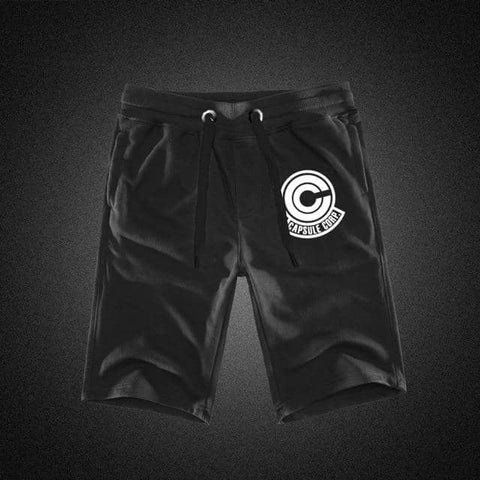 Dragon Black Capsule Workout Shorts - Superhero Gym Gear