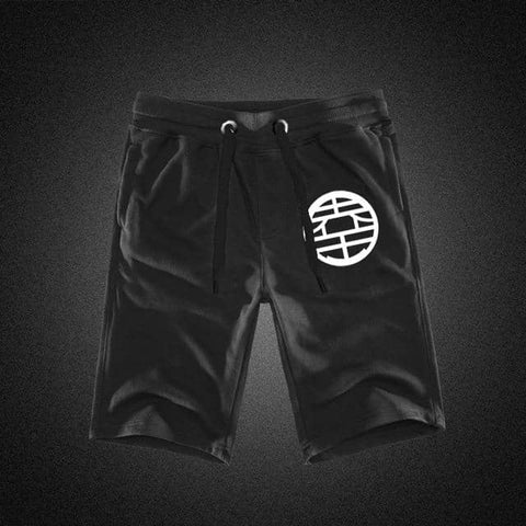 Dragon Black Workout Shorts Version 4 - Superhero Gym Gear