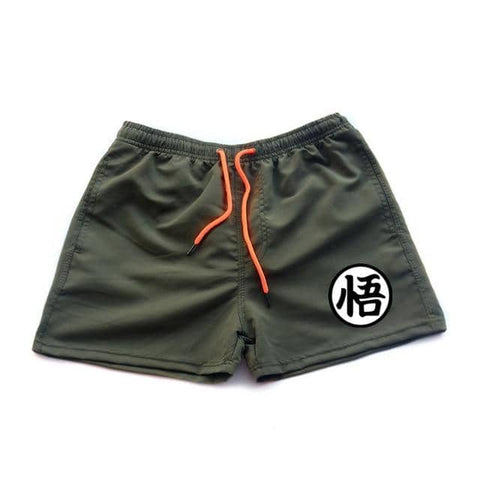 Dragon Running Shorts Army Green - Superhero Gym Gear