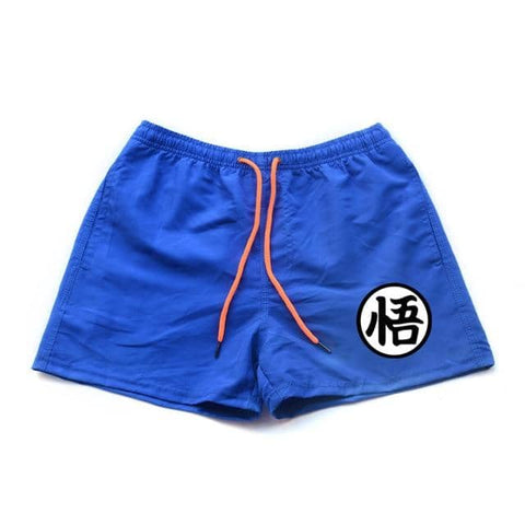 Dragon Running Shorts Blue - Superhero Gym Gear