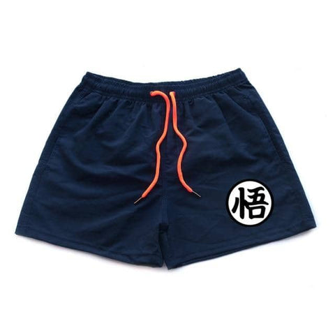 Dragon Running Shorts Navy - Superhero Gym Gear