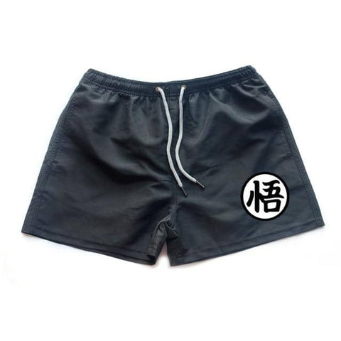 Dragon Running Shorts Black - Superhero Gym Gear