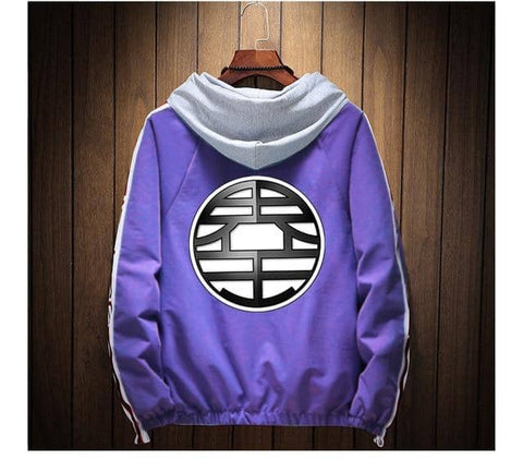 Dragon V2 Winter Jacket Purple - Superhero Gym Gear