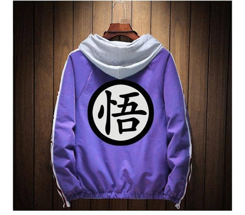 Dragon Winter Jacket Purple - FitKing