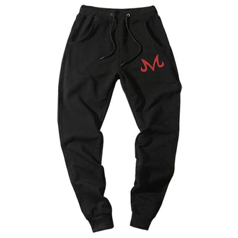 Majin Demon Joggers Black Red
