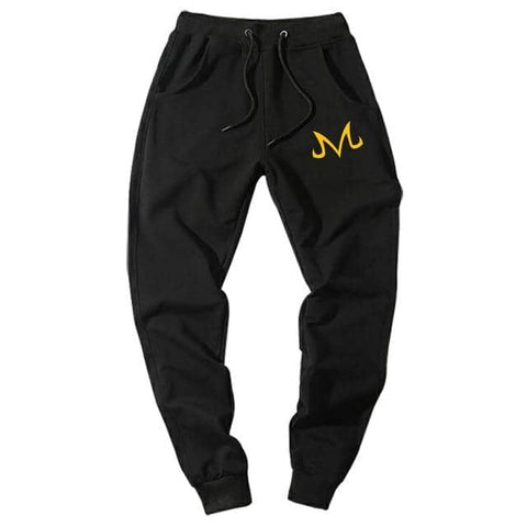 Majin Demon Joggers Black Yellow
