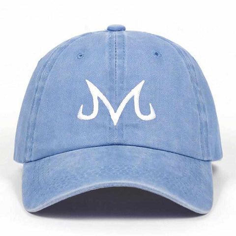 Majin Dragon Baseball Cap Light Blue - Superhero Gym Gear