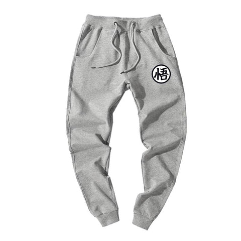 Dragon Joggers Gray Workout Pants - Superhero Gym Gear
