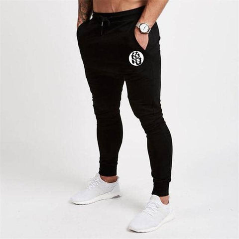 Dragon Fitted Workout Sweats Black V1 - FitKing
