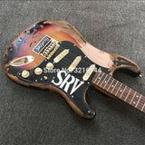 Relic SRV Style Electric Guitar - Handmade Custom Shop