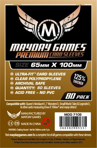 MDG 65x100mm Magnum Copper Ultra-Fit Card Sleeves Premium 80/pk