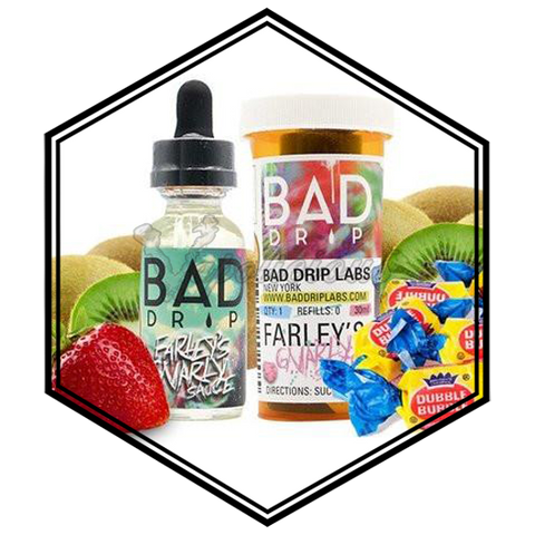 Bad Drip Clone - 100ml DL - 1.5% NIC  Vapolicious™ Unsteeped E-Liquid vapolicious.myshopify.com Vapolicious™