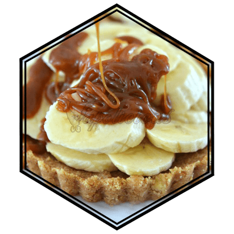 Banana Caramel - 100ml DL - 0% NIC  Vapolicious™ Unsteeped E-Liquid vapolicious.myshopify.com Vapolicious™