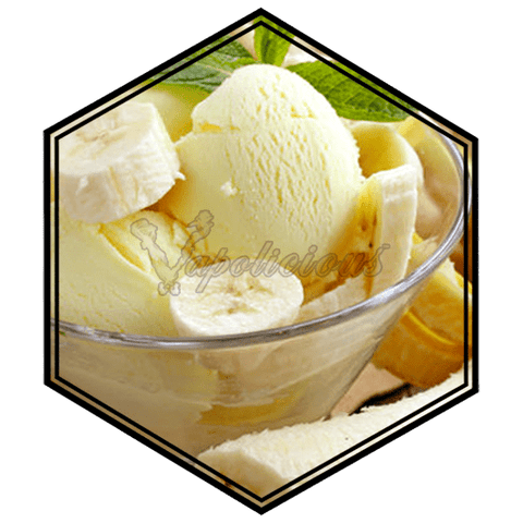 Banana Ice-cream - ½ for 50ml  Vapolicious™ Flavor Shots vapolicious.myshopify.com Vapolicious™