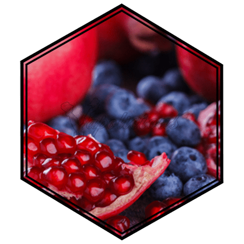 Blueberry Pomegranate - 100ml MTL - 18% NIC  Vapolicious™ Unsteeped E-Liquid vapolicious.myshopify.com Vapolicious™