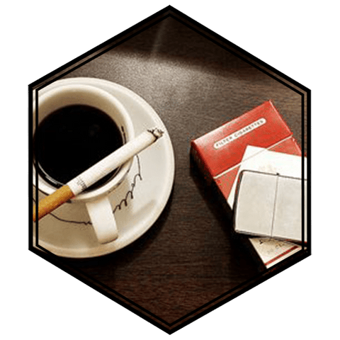 Coffee Tobacco - ½ for 50ml