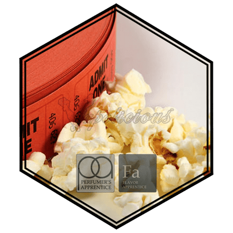 Popcorn Movie Theater - 15ML  TFA/TPA Repacked Flavors (15ML) vapolicious.myshopify.com Vapolicious™