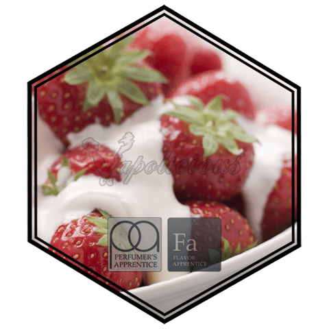 Strawberries and Cream - 15ML  TFA/TPA Repacked Flavors (15ML) vapolicious.myshopify.com Vapolicious™
