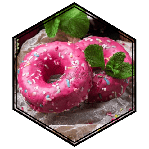 Strawberry Donut - ½ for 50ml  Vapolicious™ Flavor Shots vapolicious.myshopify.com Vapolicious™