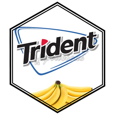 Trident Banana - ½ for 50ml  Vapolicious™ Flavor Shots vapolicious.myshopify.com Vapolicious™