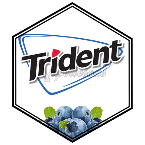 Trident Blueberry  Vapolicious™ Flavor Shots vapolicious.myshopify.com Vapolicious™