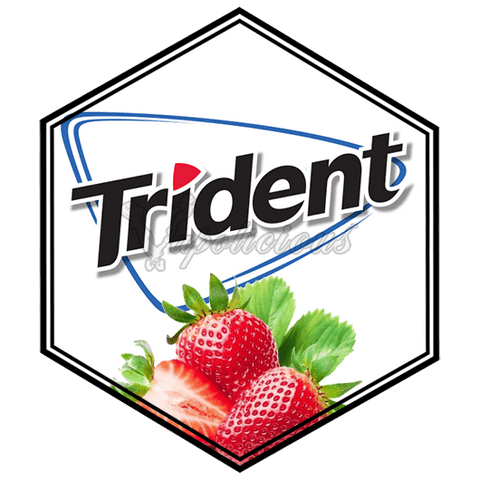 Trident Strawberry - 100ml MTL - 18% NIC  Vapolicious™ Unsteeped E-Liquid vapolicious.myshopify.com Vapolicious™
