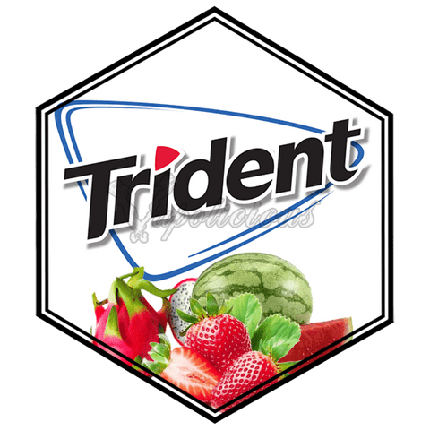 Trident Tropic-Mint - 100ml DL - 3% NIC  Vapolicious™ Unsteeped E-Liquid vapolicious.myshopify.com Vapolicious™