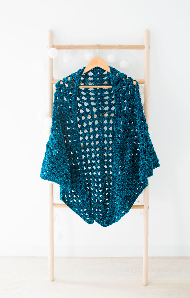 Aquarius - Crochet Shawl