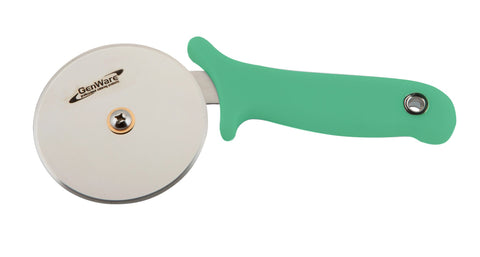 Genware 05-996G  Pizza Cutter Green Handle, Cookware & Bakeware, Advantage Catering Equipment
