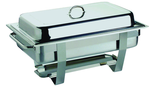 Genware 11389PB 1/1 Full Size Economy Chafing Dish, Buffet & Display, Advantage Catering Equipment