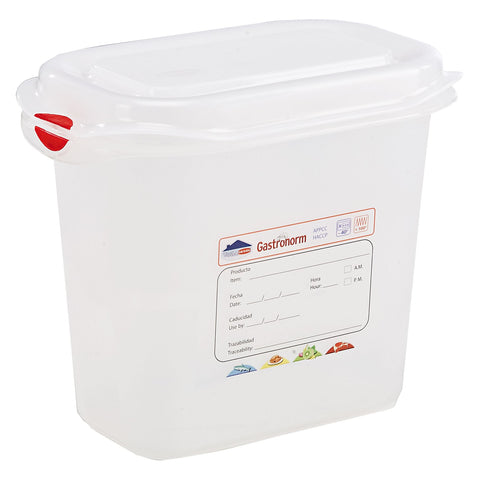 Genware 12360 GN Storage Container 1/9 150mm Deep 1.5L