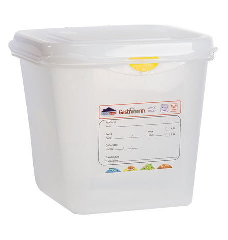 Genware 12390 GN Storage Container 1/6 150mm Deep 2.6L