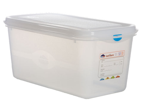 Genware 12450 GN Storage Container 1/3 150mm Deep 6L