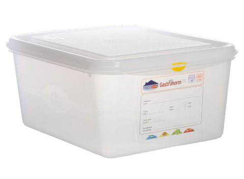 Genware 12480 GN Storage Container 1/2 150mm Deep 10L