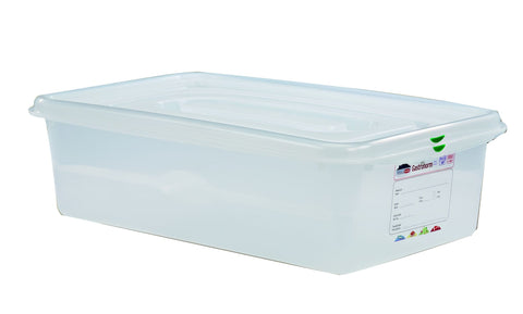 Genware 12540 GN Storage Container 1/1 150mm Deep 21L, Storage & Gastronorm, Advantage Catering Equipment