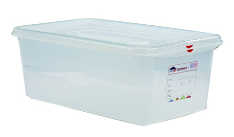 Genware 12550 GN Storage Container 1/1 200mm Deep 28L, Storage & Gastronorm, Advantage Catering Equipment