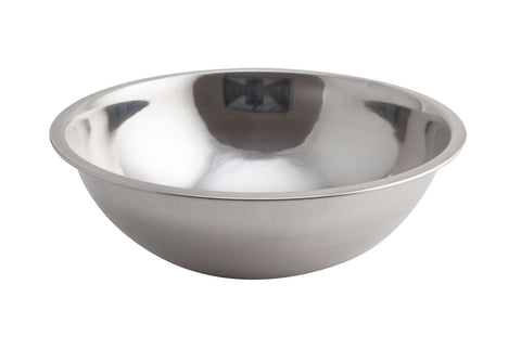 Genware 2028  Mixing Bowl S/St. 2.5 Litre, Kitchen & Utensils, Advantage Catering Equipment