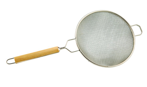 "Genware 234-10 10"" Bowl Double Mesh Strainer, Kitchen & Utensils, Advantage Catering Equipment"